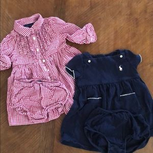Set of two Ralph Lauren 9 month Outfits